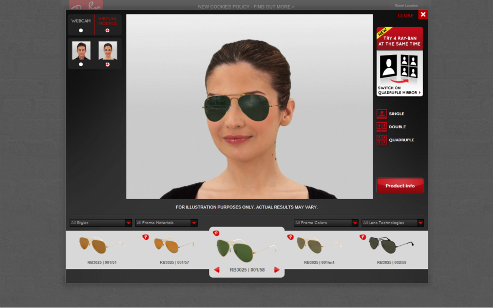 rayban-polarising-windows-ideal