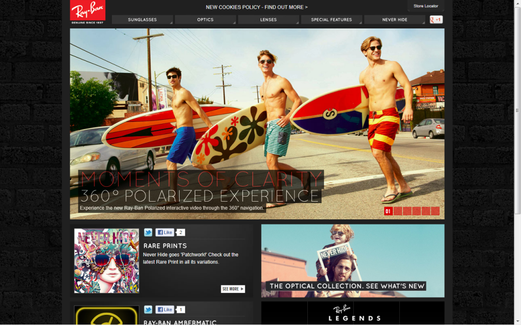 ray ban website model number  ray ban summer surf boards