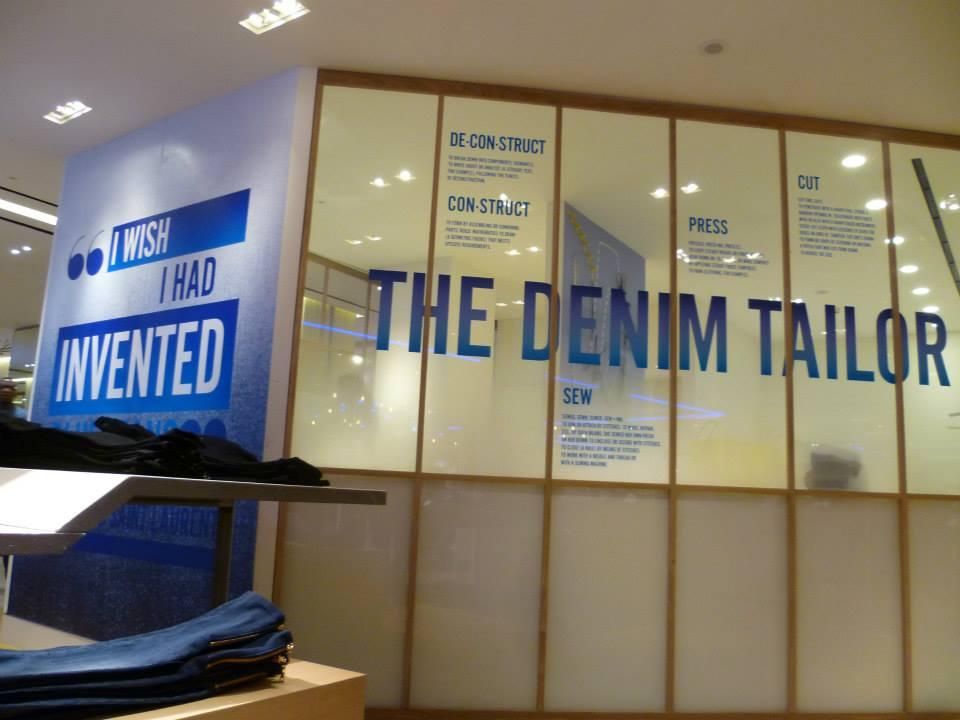 Selfridges denim studio denim taylor - Selfridges head office telephone number ...