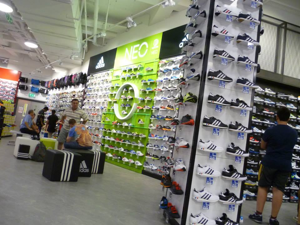 sports-direct-footwear-brand-wall