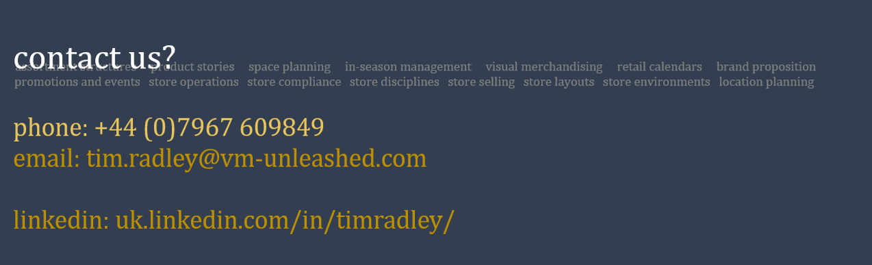 contact-us header