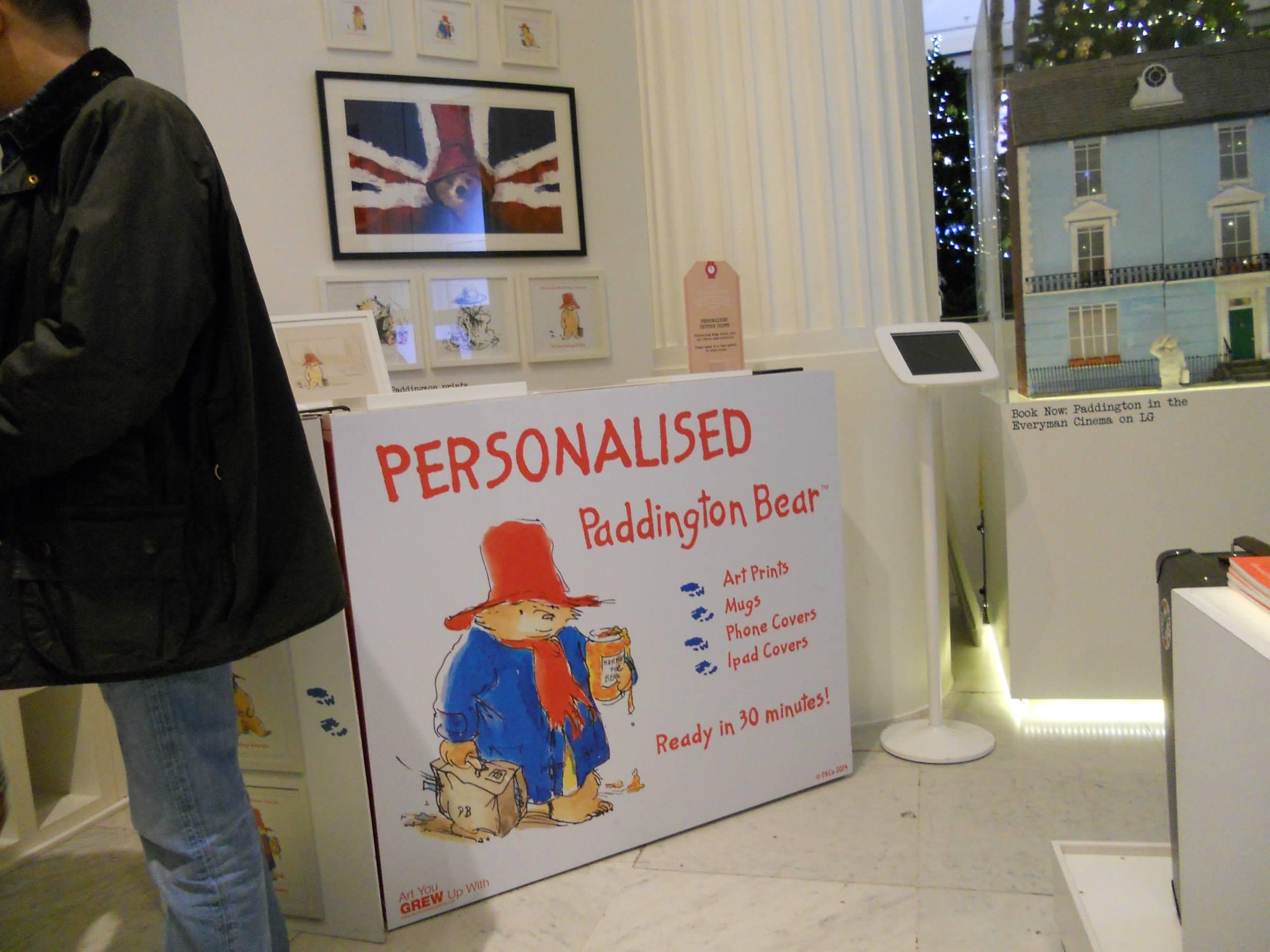 Paddington-Store-Selfridges-Personalised-Paddington