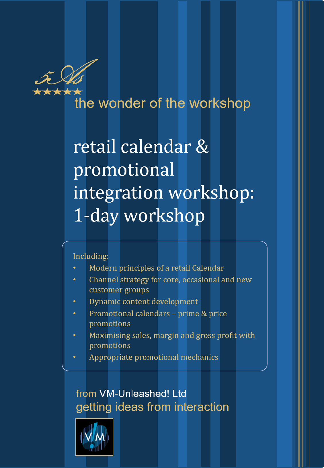 vm-unleashed-workshop-retail-calendar-sales-promotions