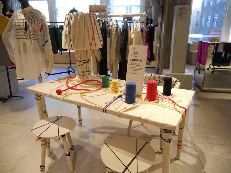 Sustainable Selfridges: Natural Partner for a Material World -